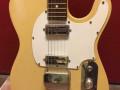 Egmond Telstar gitaar 1968, body front.