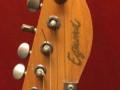 Egmond Telstar gitaar 1968, headstock front.