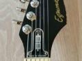 Egmond prototype actieve gitaar 1970 Tyhoon basis,  headstock front.