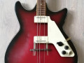 Flash versie Solid Bass 7, 2EBS1 met halspen 1966, 2 pickups, body front.