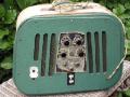 Egmond Royal V830,  8  watt buizenversterker, 2 Ronette inputs en vibrato, back.