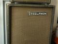 Egmond 6/604 fabrikaat Steelphon, Conductor 60 watt buizen met speaker box  met 2x Irel Special speakers 12,5 inch-32 cm.