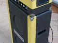 Egmond  6/606 solid-state fabrikaat Steelphon GA805, zijkant.