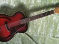 MILLER vintage Cateye jazz guitar, front.