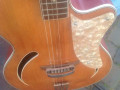 Miller acoustiche Jazz Archtop guitar ca. 1950, body front.