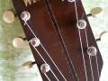 Wilson acoustische Jazz gitaar Sunburst type JG 57-1-CA, headstock front.