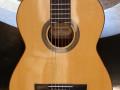 Estrada klassieke gitaar no 3-1970 -1980,  massief cedar body, front.