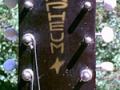Orpheum Jazz gitaar, headstock front.