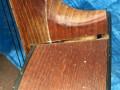 Hi Spot Parlour guitar UK Toledo export model. Voor Egmond geproduceerd in Tsjechoslowakije. Hak met bekend probleem.
