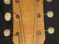 Marvel Sunburst Acoustic, headstock front.