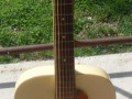 Stadium Archtop guitar, made by Egmond, front.