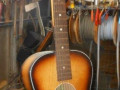Stadium Parlor guitar, made by Egmond,  front.