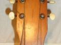 Tonica Spaanse gitaar made by Egmond, gelijk aan Combo, headstock front.