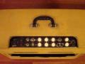 Egmond  V1831 18 watt  buizenversterker 1963 beige, top.