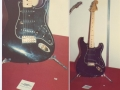 Hank's Black Strat, rond 1975 van wit naar zwart gespoten en voorzien van zwarte slagplaat en zwarte pick-ups. Gebruikt voor Cavatina Deer Hunter, Don't cry for me Argentina, tijdens Eurovision Songcontest 1975 in Stockholm en bij de Change of Adress Tour 1980. Nu in bezit van Ben Marvin.