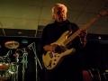 Robin Timmerman van EFTP met zijn witte Fender Strat.