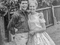 1961  Cliff met vriendin Delia Wicks hadden 1,5 jaar een relatie.