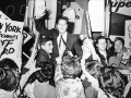 1962 Cliff met Amerikaanse fans in New York bij de 2e USA Tour.