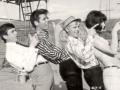 1964  scene uit de film Wonderful Live met Una Stubbs en Melvyn Hayes.