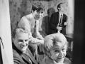 1967  Cliff Richard met Billy Graham, de Amerikaanse evangelist voor wiens organisatie  Cliff in de film Two a Penny speelde.
