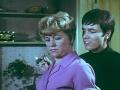 1968  Scene uit de film Two a Penny met Dora Bryan.