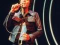 Cliff Richard in concert in de Wembley Arena 2008.