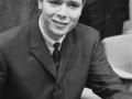 Cliff Richard tijdens een Hollandse persconferentie in 1962.
