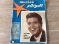 Cover maandblad Muziekparade maart 1962, prijs 55 cent.
