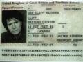 Paspoort Sir Cliff Richard.