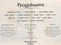 Programma Empire Pool Wembley Cliff Richard met andere top artiesten.