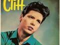 Cliff's karakteristieke sixties kuif op de cover van de LP Cliff Sings.
