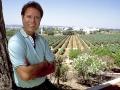 Zicht over de wijngaarden van Sir Cliff  waar de Portugese Vida Nova wijnen vandaan komen.