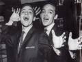 The Kalin Twins (geboren in New York 1934), tourden gezamelijk met Cliff & The Shadows in de Early years, Grootste hit: When.