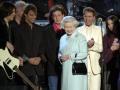 Cliff bij The Queen met o.a. Paul Mc Cartney.
