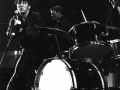 Gene Vincent on stage met The Wildcats febr 1960 Brian Locking en Brian Bennett in The Royal Albert Hall 1960.