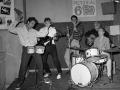 Tony Meehan met zijn Ajax drumstel.