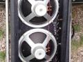 Elac Line Sources speakers 1964-1965 4x10 inch -40 watt per cabinet. Standaard Elac speakers, incidenteel Celestion 7442s.