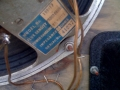 Fane 122-17 Vox label typeplaatje.