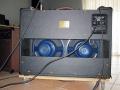 Fane Blue Alnico 12 inch speakers in Vox AC30 Limited Edition 30th Anniversary Korg, Laatste Rose Morris model gemaakt in de Precision Electronics plant in Wellingsborough UK 1991.