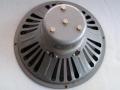 Goodmans (Bell en Howell) speakers Fan Frame 12 inch 8 Ohm Alnico Grey gebruikt in AC15 Twin 1962-1963.