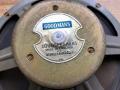 Goodmans Six-spoke10 inch 16 Ohm alnico Grey gebruikt bij AC10 1962, sticker.
