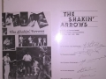 1986 april 8e Harmonie, 1e Goes back in time avond, hoes met handtekeningen The Shakin' Arrows.