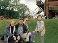 1988 Ton Verhagen in Engeland op bezoek bij Jet Harris en zijn vrienden.