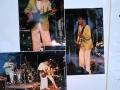 1989 juni Rock-n-Roll Revival avond Studiozaal Schouwburg Tilburg avond, hoes met ticket en handtekeningen Renée & The Alligators.