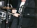 1996 maart 30e Motel Eindhoven avond. Clem Cattini (The Tornados) drummer bij Local Hero.
