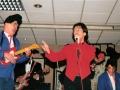 1996 maart 30e Motel Eindhoven avond. Engeland's beste Cliff imitator Jimmy Jemain, begeleid door Local Hero.