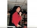1996 maart 30e Motel Eindhoven avond. Engeland's beste Cliff imitator Jimmy Jemain.