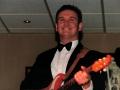 1996 maart 30e Motel Eindhoven avond. Phil Kelly Rhythm gitarist bij Local Hero.