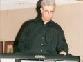 1996 maart 30e Motel Eindhoven middag. Jos Gilles toetsenist bij Guitar Syndicate.