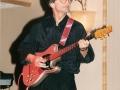 1996 maart 30e Motel Eindhoven middag. Marc Vandermeulen Rhythm t.m. medio 1996.